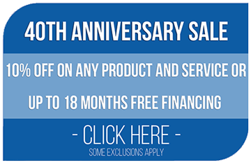 Perma-Seal 40th Anniversary Sale