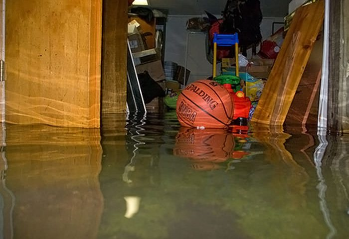 Flooded Basement Home