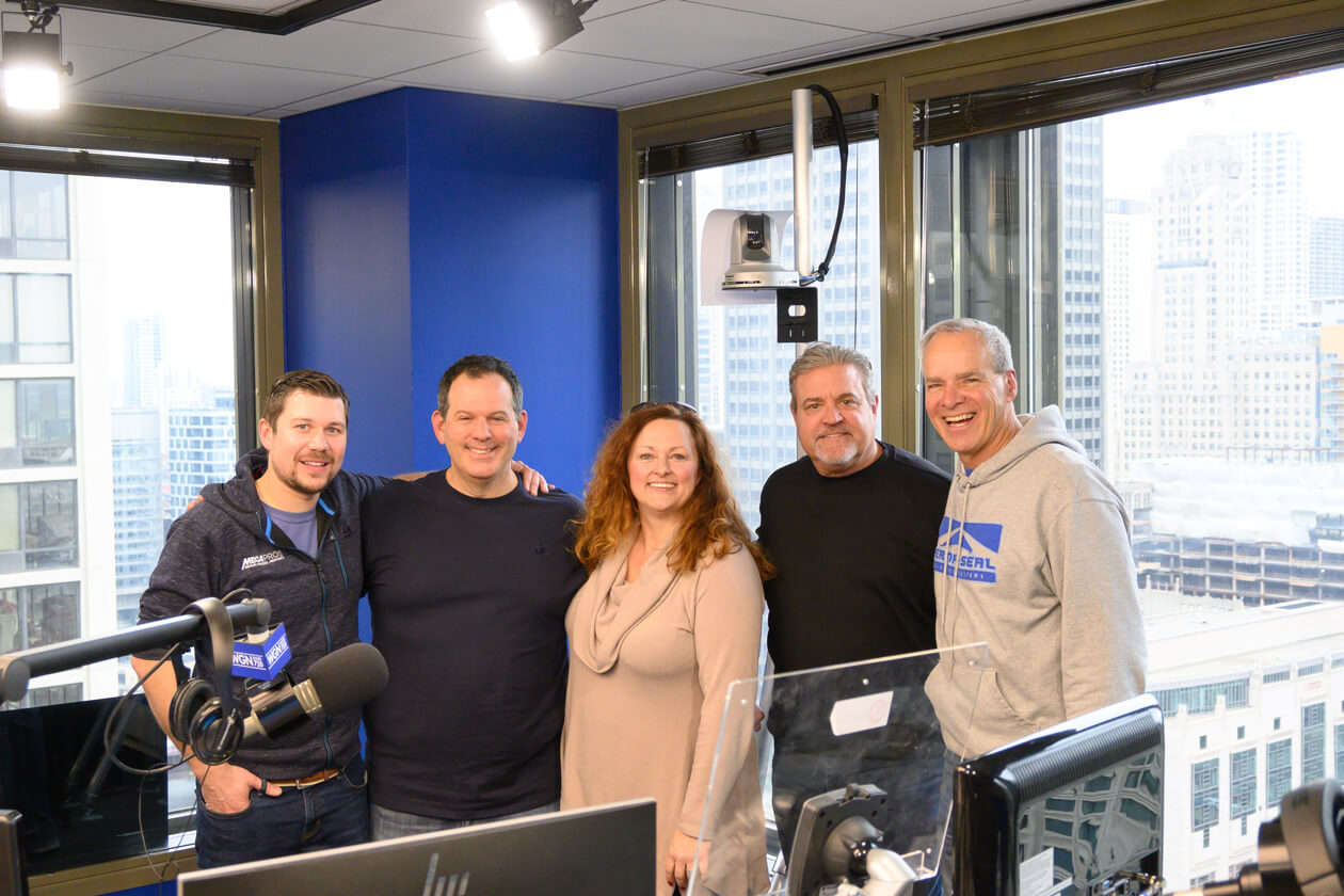Perma-Seal Official Partner of Home Sweet Home Chicago on WGN Radio 720