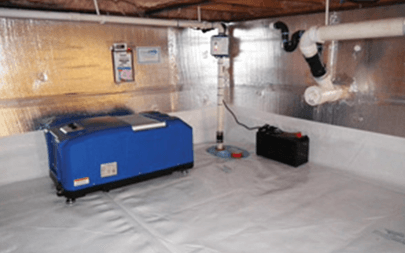 Crawl Space Air Quality