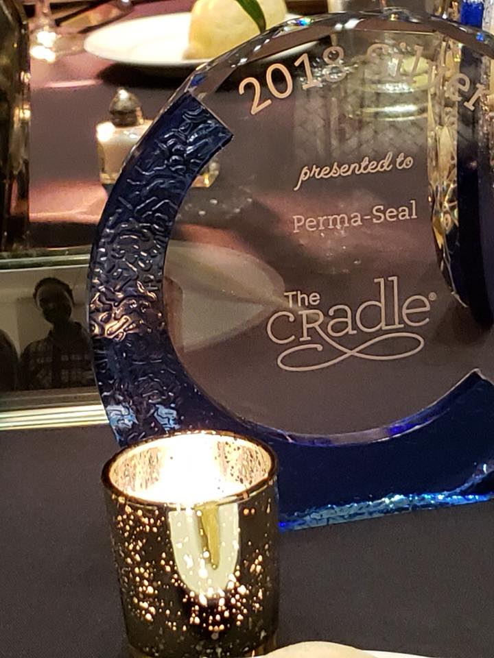 Perma-Seal Recipient of 2018 Silver Cradle Award