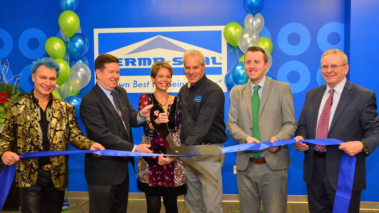 Burr Ridge Ribbon Cutting