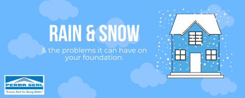Rain & Snow Problems for Foundations
