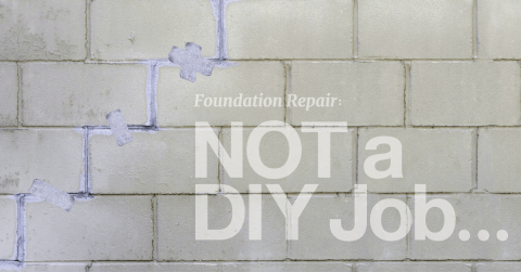Why Foundation Repair is NOT a DIY Job