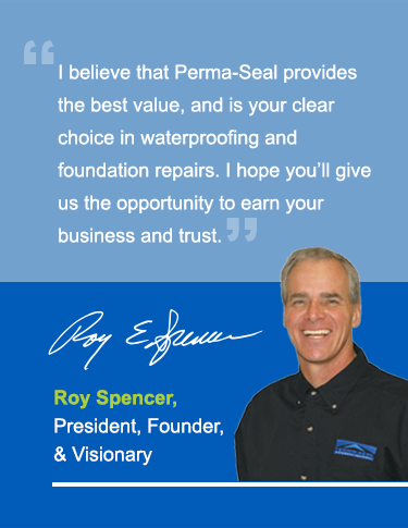 Roy Spencer, Owner and President of Perma-Seal