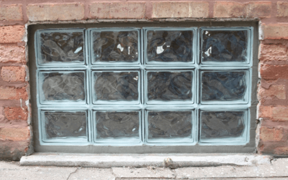 New And Replacement Gl Block Window Walls