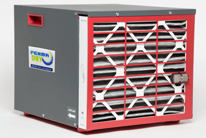 Perma-Dry Combination Air Filter and Dehumidifier