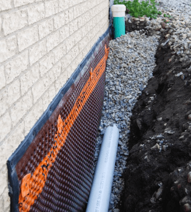 Basement Drainage Systems - Interior and Exterior