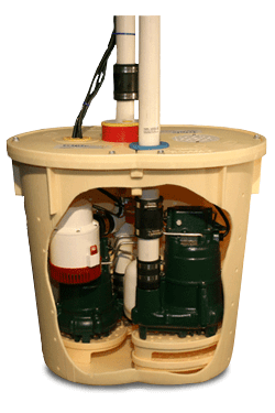 TripleSafe Sump Pump Kit